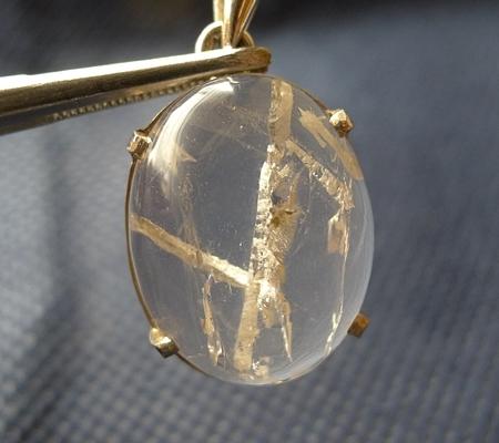 ヒマラヤ水晶ペンダント特殊内包物027-8
