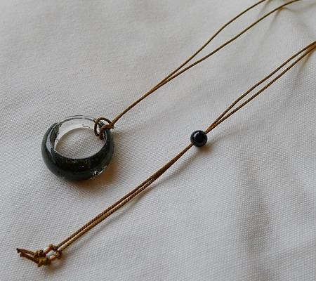 ヒマラヤ水晶リングくり貫きリング047-6