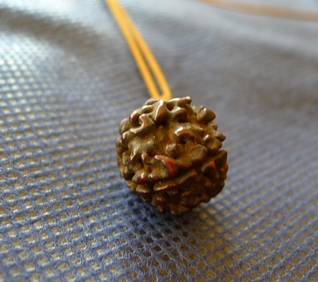 アンティークルドラクチャ金剛菩提樹チョーカー045-3