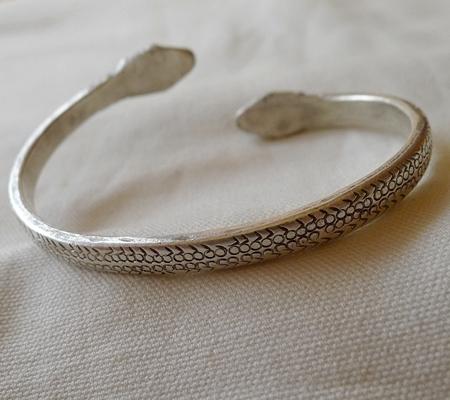 純銀シルバーナーガブレスレット020-6