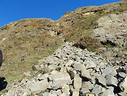 ヒマラヤ水晶の鉱脈・採掘現場調査004-3